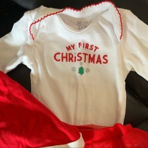 Carters my first Christmas outfit newborn